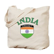 Indian cricket Tote Bag