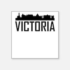 Skyline of Victoria BC Sticker