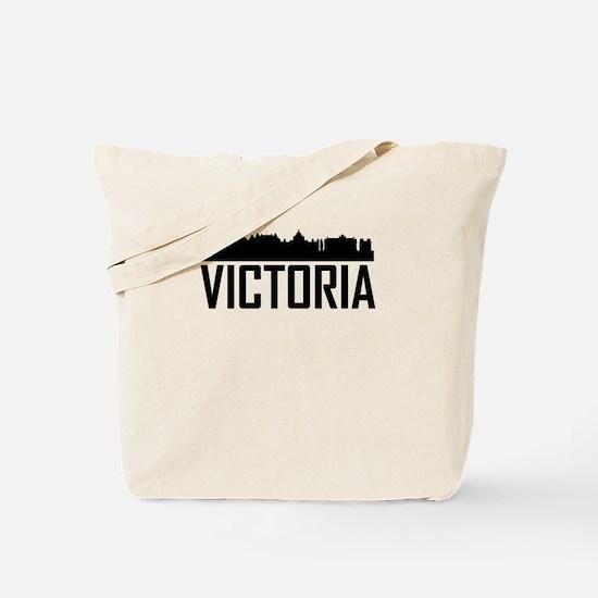 Skyline of Victoria BC Tote Bag