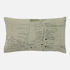 Vintage Map of Southampton New York (1 Pillow Case