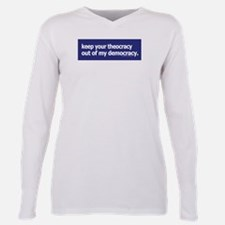Cute Pro conservative Plus Size Long Sleeve Tee