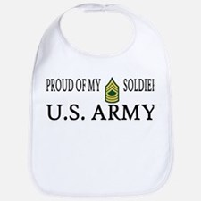 MSG - Proud of my soldier Bib