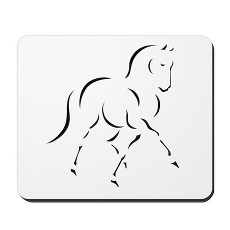 Elegant Horse Mousepad