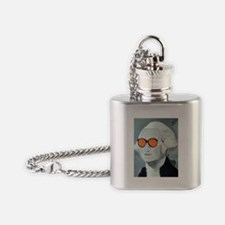 Cool George Flask Necklace