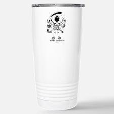 Cute Eyeballmania Travel Mug