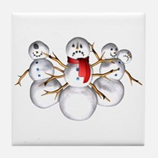 Snow Monsters Tile Coaster