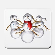 Snow Monsters Mousepad