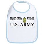 1SG - Proud of my soldier Bib