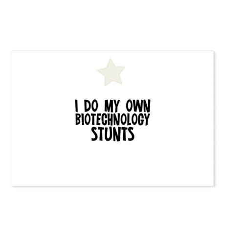 I Do My Own Biotechnology Stu Postcards (Package o