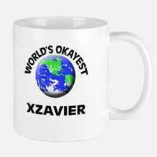 World's Okayest Xzavier Mugs