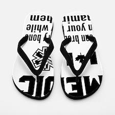 Emt paramedic ems Flip Flops