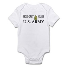 SGM - Proud of my soldier Infant Creeper