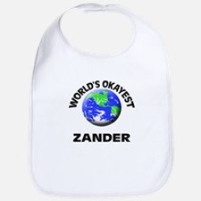 World's Okayest Zander Bib