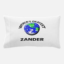 World's Okayest Zander Pillow Case
