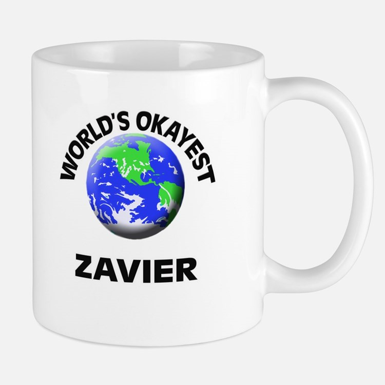 World's Okayest Zavier Mugs