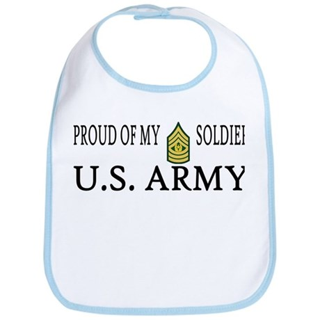 CSM - Proud of my soldier Bib
