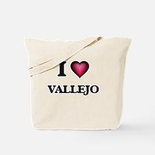 I love Vallejo California Tote Bag