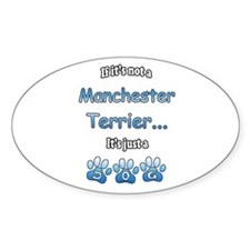 Manchester Not Oval Decal