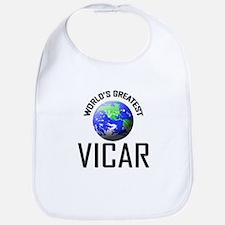 World's Greatest VICAR Bib