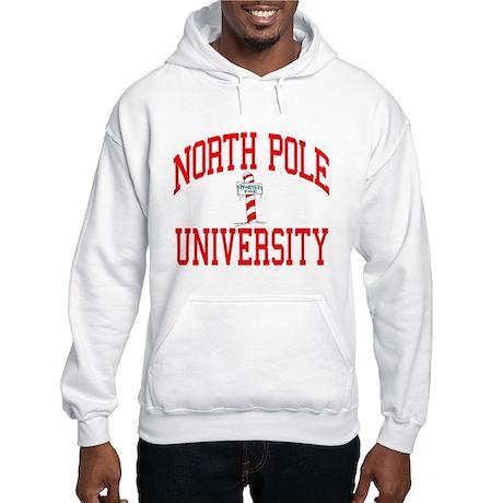 NORTH POLE UNIVERSITY Hooded Sweatshirt