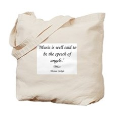 Carlyle Tote Bag - The speech of angels by Carlyle
