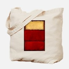 ROTHKO MAROON RED BEIGE Tote Bag