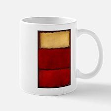 ROTHKO MAROON RED BEIGE Mugs