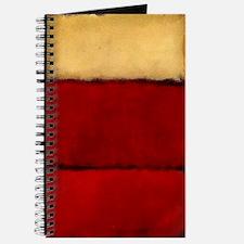 ROTHKO MAROON RED BEIGE Journal