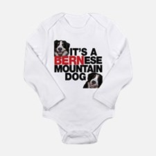 It's a BERNese Mountain Dog Body Suit