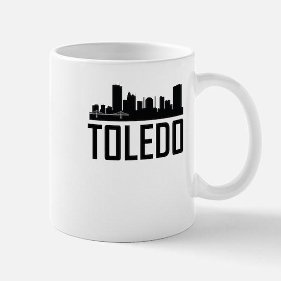 Skyline of Toledo OH Mugs