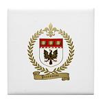 JEANSONNE Family Crest Tile Coaster