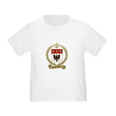 JEANSONNE Family Crest Toddler T-Shirt