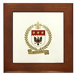 JEANSONNE Family Crest Framed Tile