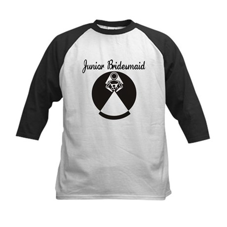 Junior Bridesmaid Kids Baseball Jersey
