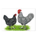 Marans Rooster and Hen Postcards (Package of 8)