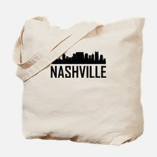 Skyline of Nashville TN Tote Bag