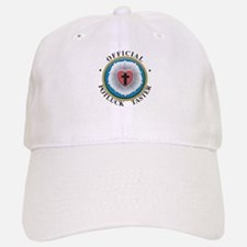 Official Potluck Taster Baseball Baseball Cap