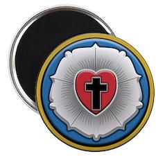 Lutheran Rose Magnet
