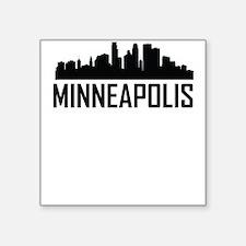 Skyline of Minneapolis MN Sticker