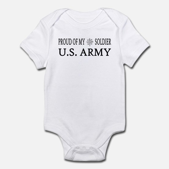 LTC - Proud of my soldier Infant Creeper