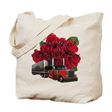 18 Wheels & A Dozen Roses Tote Bag