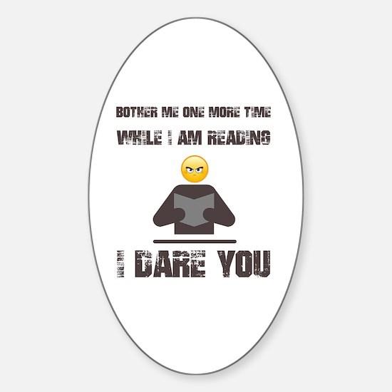 Unique Reader Sticker (Oval)
