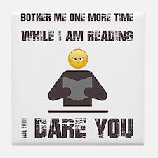 Unique Reader Tile Coaster