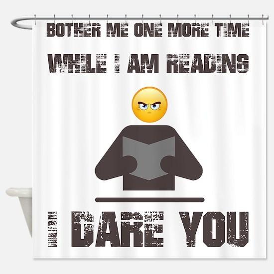 Unique Read Shower Curtain