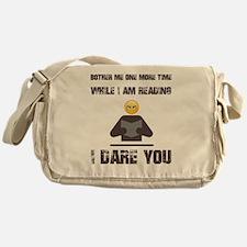 Funny Read Messenger Bag