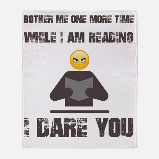 Cute Read Throw Blanket