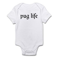 Pug Life Infant Creeper