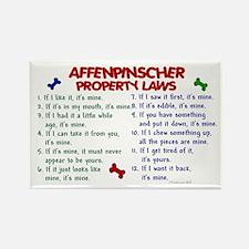 Affenpinscher Property Laws Rectangle Magnet (10 p