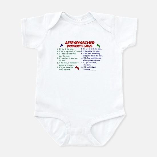 Affenpinscher Property Laws Infant Bodysuit