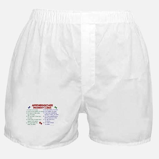 Affenpinscher Property Laws Boxer Shorts
